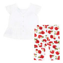 Two-Piece Rose Top And Leggings Set Baby, ${color}