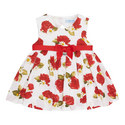 Rose & Daisy Print Dress, ${color}