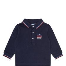 Bike Embroidered Polo Shirt