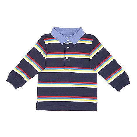Striped Rugby Top, ${color}