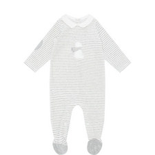 Stripe Romper Baby Set
