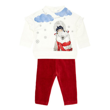 Two-Piece Top & Leggings Set Baby, ${color}