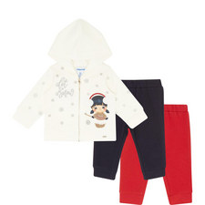Three-Piece Hoody & Leggings Set