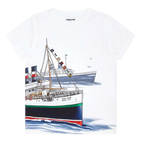 Ship Print T-Shirt, ${color}