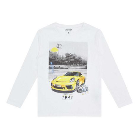 Long-Sleeve Car T-Shirt, ${color}