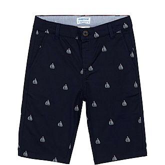 Sailboats Bermuda Shorts Kids