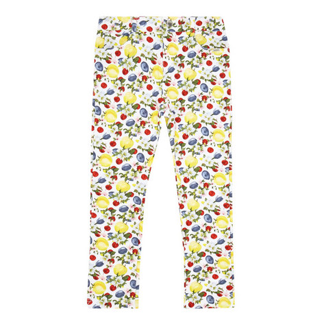 Fruit Print Leggings, ${color}