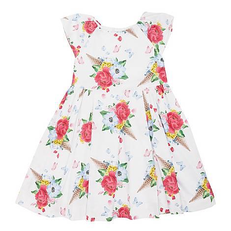 Floral Ice Cream Dress, ${color}