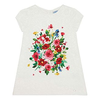 Jacquard Floral Dress