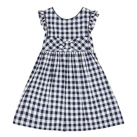 Gingham Bow Dress, ${color}