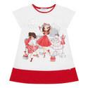 Printed Tunic Dress, ${color}