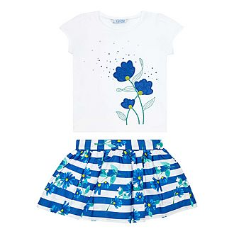 Two-Piece T-Shirt & Skirt Set