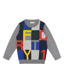 Multi-Letter Sweater