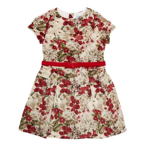 Floral Velvet Dress, ${color}