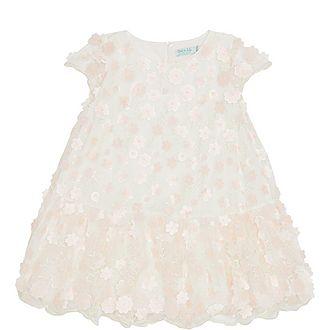Flower Tulle Dress