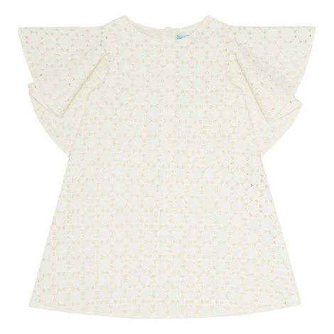 Flutter Sleeve Dress, ${color}