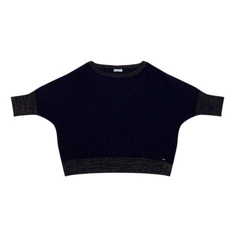 Lurex Trim Sweater, ${color}