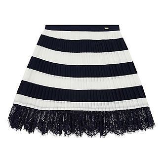 Striped Lace Skirt