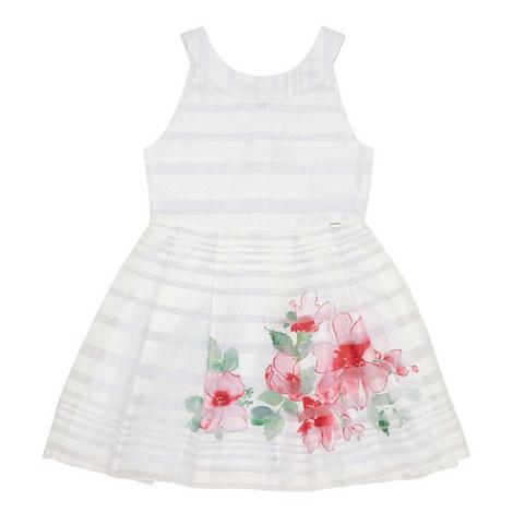 Striped Flower Dress, ${color}