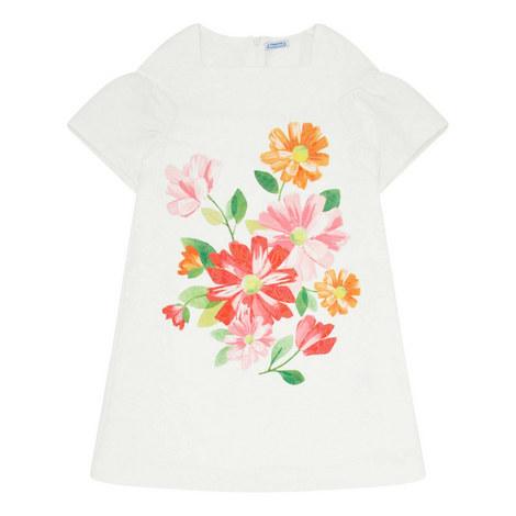 Jacquard Floral Dress, ${color}