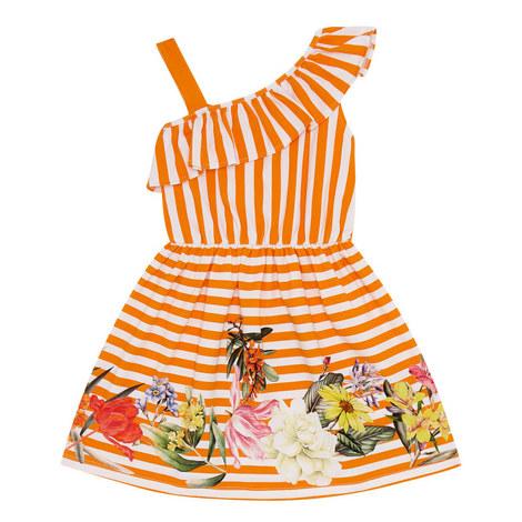 Striped Floral Dress, ${color}