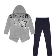 Two-Piece Leggings & Sweatshirt Set