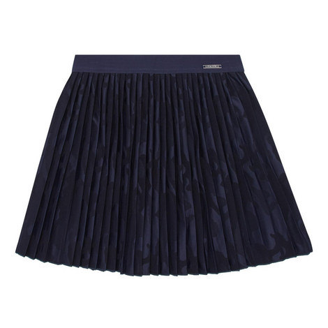 Camouflage Pleated Skirt, ${color}