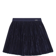 Camouflage Pleated Skirt