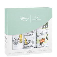 3-Pack Winnie-the-Pooh Muslin Squares