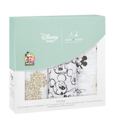 3-Pack Mickey Mouse Cotton Squares