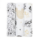 3-Pack Mickey Mouse Swaddles, ${color}