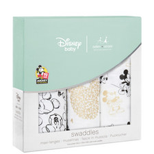 3-Pack Mickey Mouse Swaddles