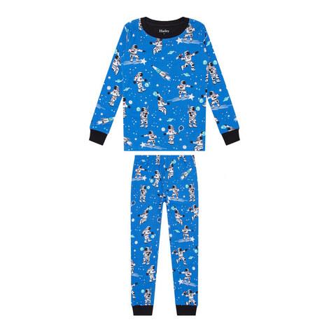 Space Print Pyjamas, ${color}
