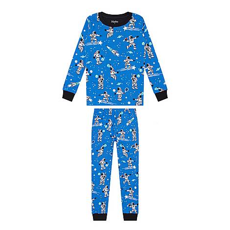 Space Print Pyjamas, ${color}