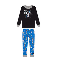 'Dream Big' Space Print Pyjamas