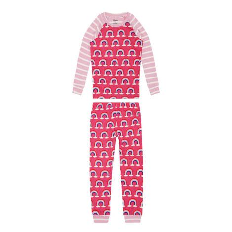Rainbow Print Pyjamas, ${color}