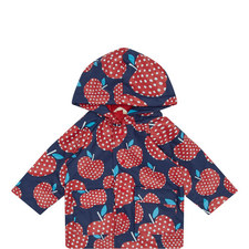 Strawberry Print Raincoat Baby