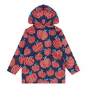 Strawberry Print Raincoat, ${color}