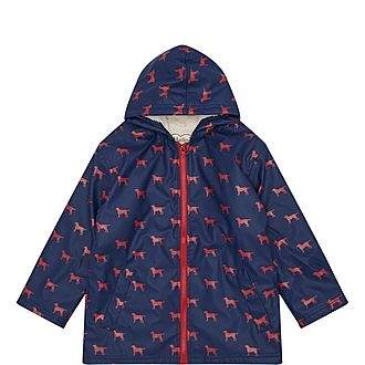 Dog Print Splash Jacket
