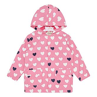 Hearts Raincoat