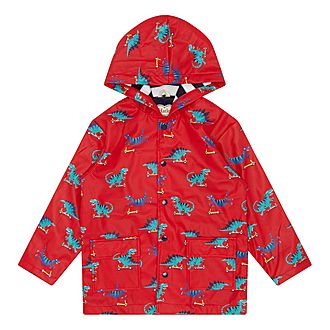 Scooting Dino Raincoat