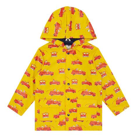 Vintage Firetruck Raincoat, ${color}
