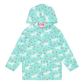 Galloping Horse Raincoat