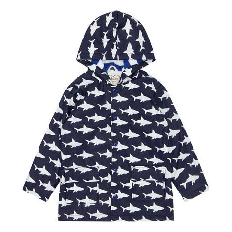 Shark Frenzy Raincoat, ${color}