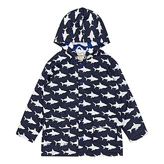 Shark Frenzy Raincoat