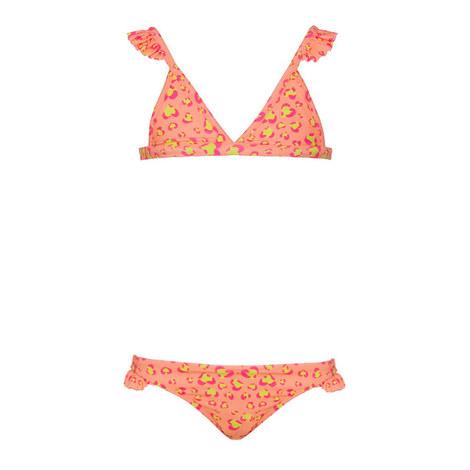 Leopard Print Floral Bikini, ${color}