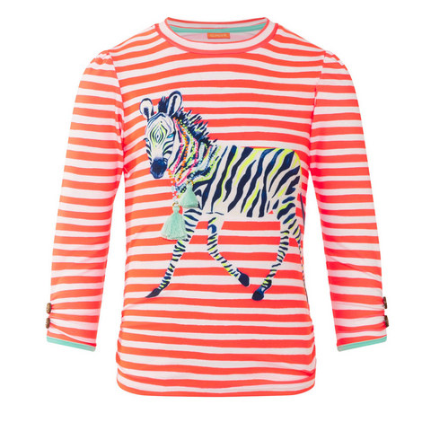 Fiesta Zebra Rash Guard, ${color}