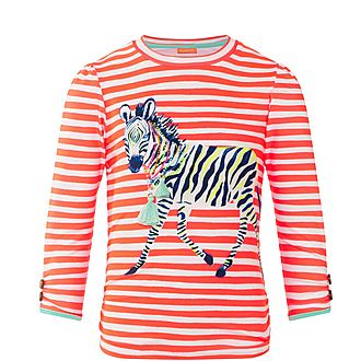 Fiesta Zebra Rash Guard