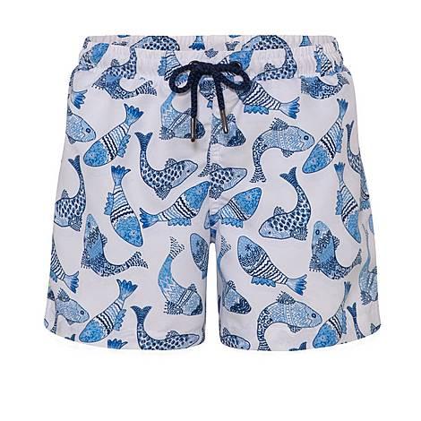 Batik Fish Swim Shorts, ${color}