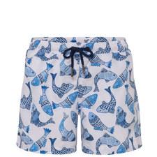 Batik Fish Swim Shorts